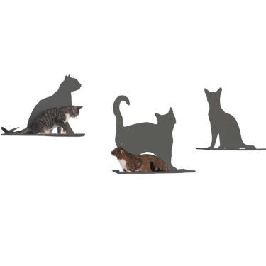 The Refined Feline Cat Silhouette Cat Shelves – Review