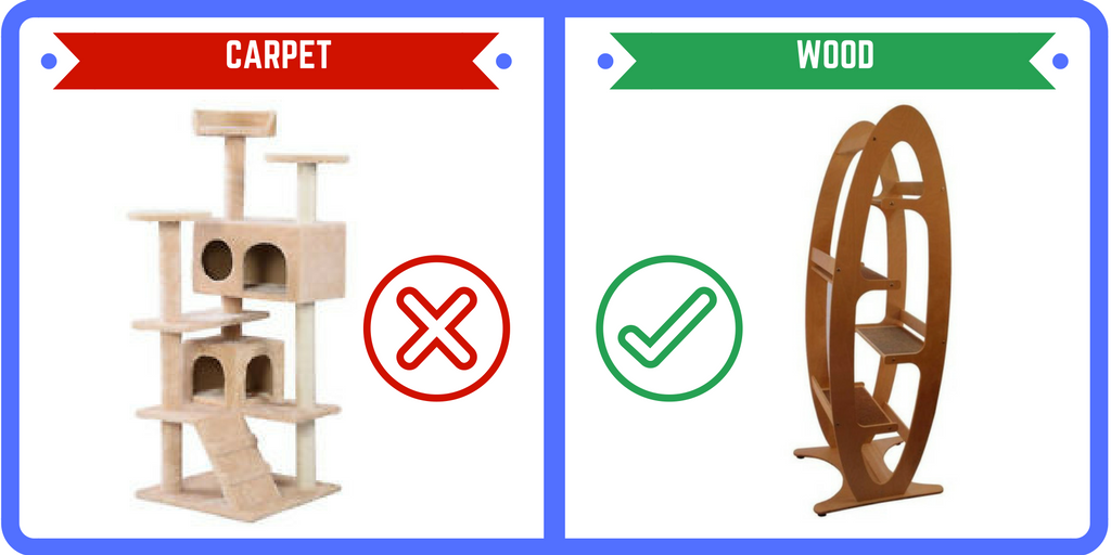 carpet-vs-wood-cat-tree
