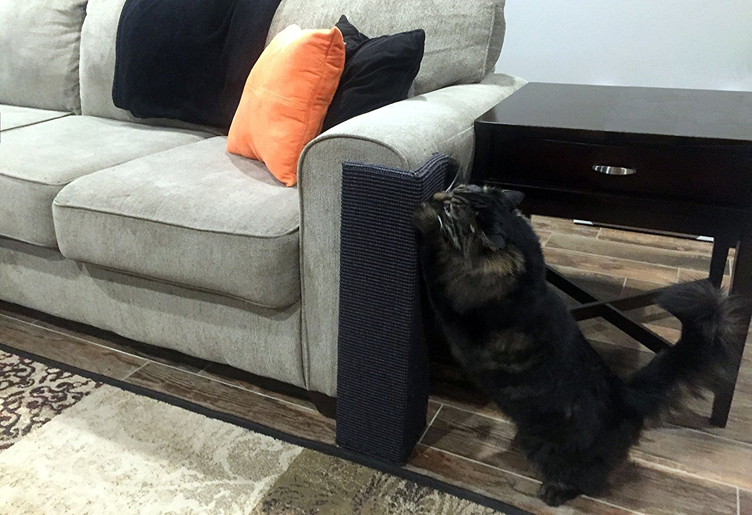 Sofa Scratcher Squared Cat Scratching Post Review Kitty Loaf