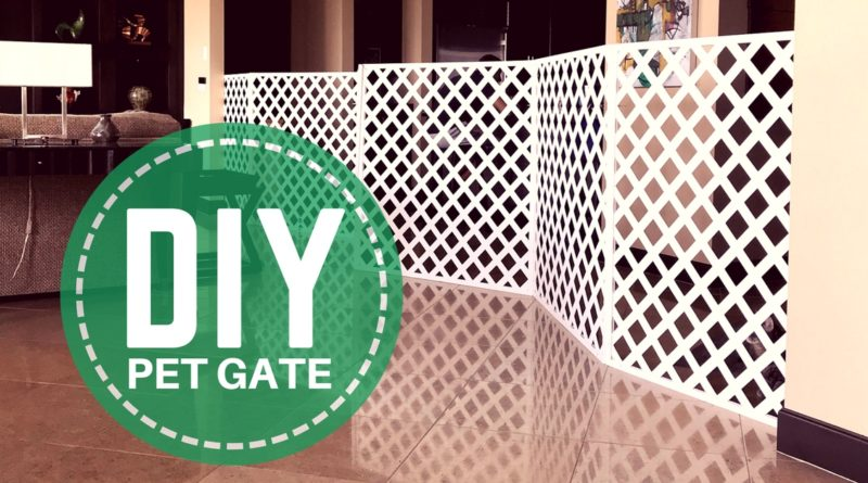 Diy Extra Large Pet Gate For Cats Kitty Loaf