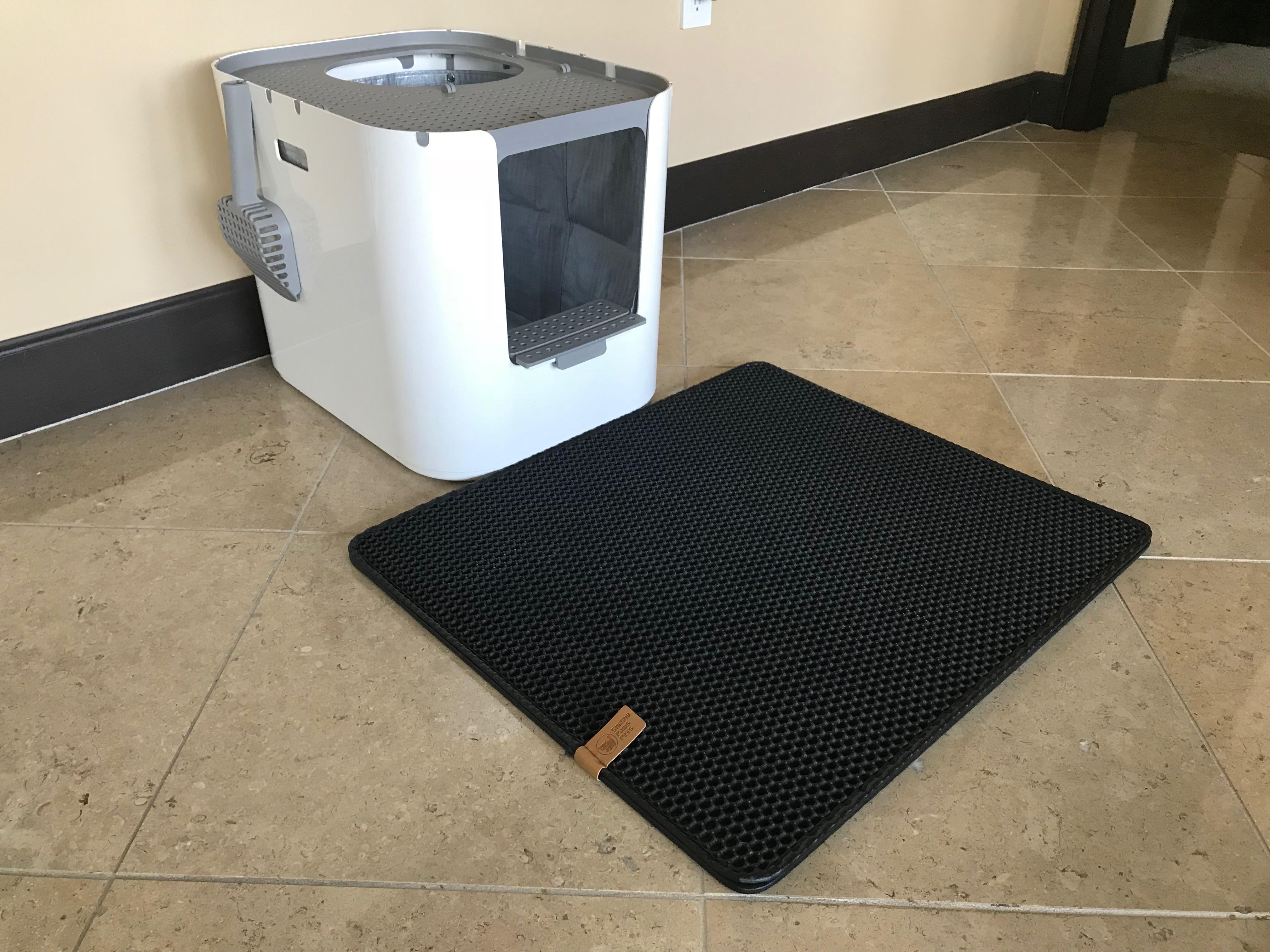 cat mat boot flexible duty tray rubber mats products heavy litter