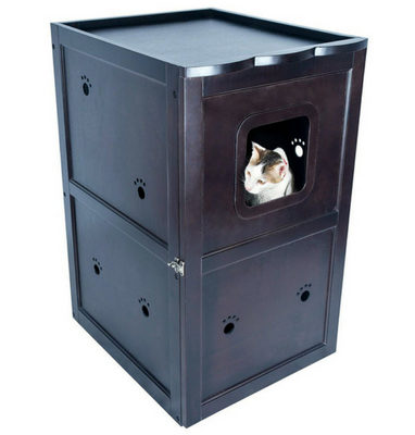 Petsfit Double-Decker Pet House Litter Box Enclosure – 1